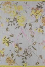 Fraas Fraas Écharpe carrée à imprimé floral