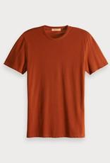 Scotch & Soda Scotch & Soda t-shirt uni léger
