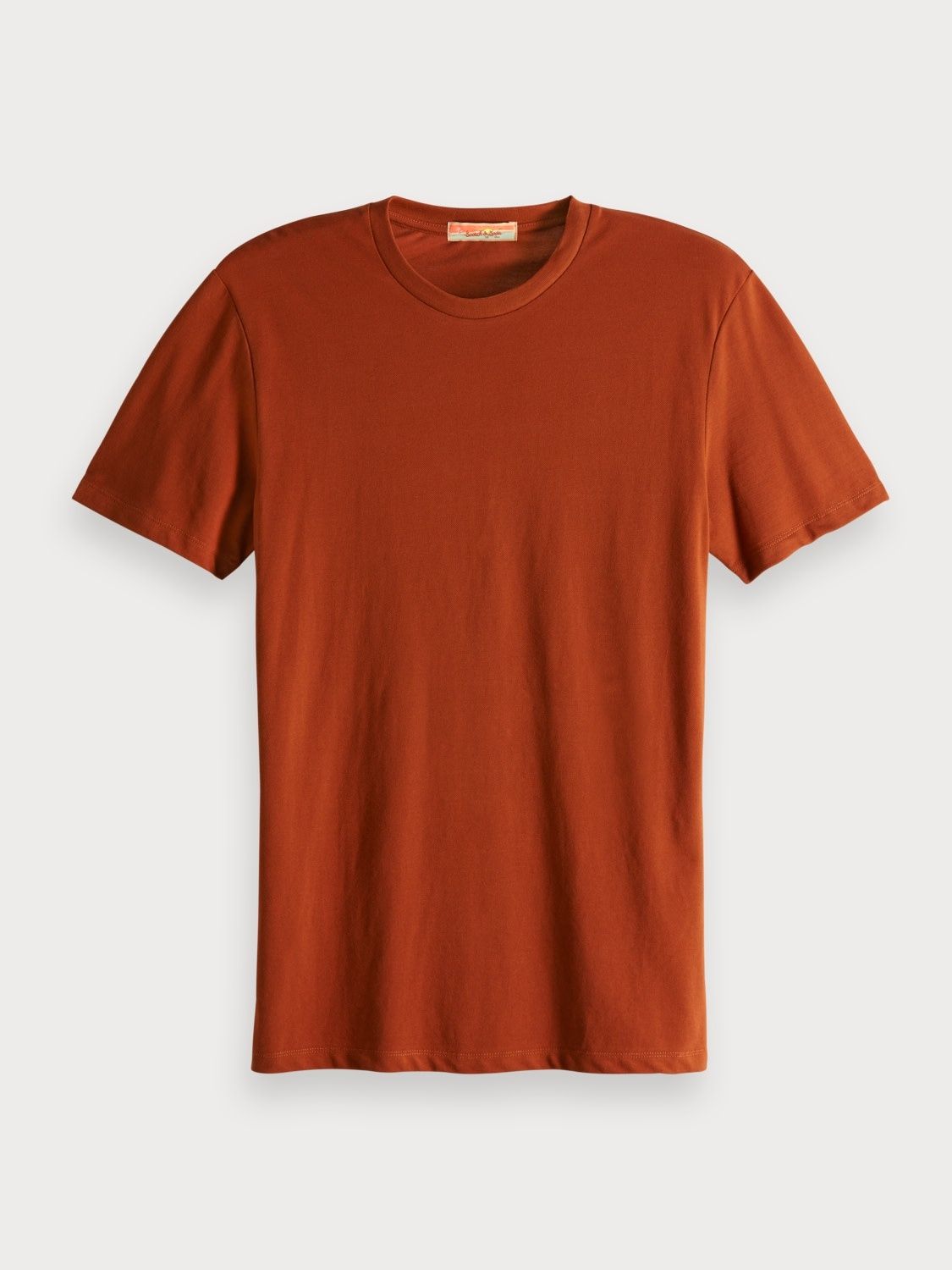 Scotch & Soda Scotch & Soda Pique creneck tee