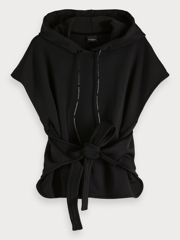 Maison Scotch Maison Scotch Sleeveless hoodie
