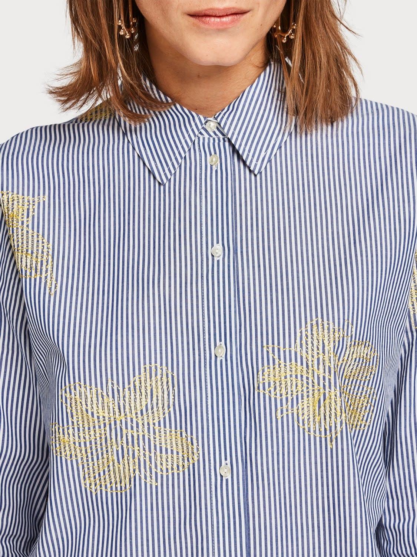 Maison Scotch Maison Scotch Boyfriend shirt