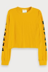 Maison Scotch Maison Scotch Cropped t-shirt