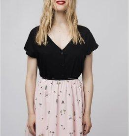 Compania Fantastica Compania Fantastica Pink cocktail skirt