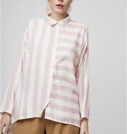 Compania Fantastica Compania Fantastica Oversized striped shirt