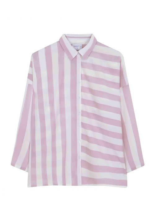 Compania Fantastica Oversized striped shirt