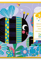 Djeco Djeco Scratch cards Bugs
