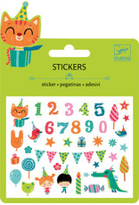 Djeco Djeco Mini stickers  Anniversaire