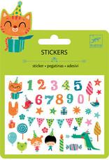 Djeco Djeco Mini stickers Birthday