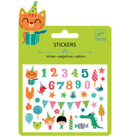 Djeco Djeco Mini stickers Birthday