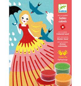 Djeco Djeco Sables colorés Belles en balade