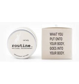 Routine Routine - Deodorant Cat Lady