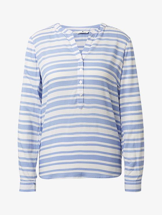 Tom Tailor Printed dobby blouse