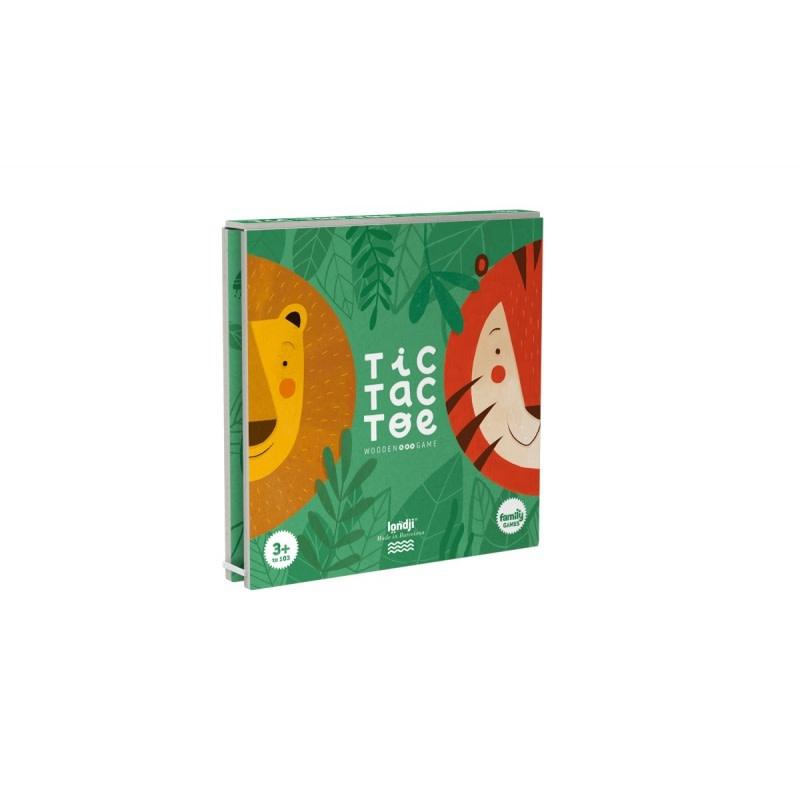DI030U Tic Tac Toe - Lion & Tigre