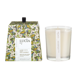 Lucia Lucia Laurel Leaf & Olive Soy Candle