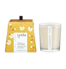 Lucia Lucia Bougie de soja Feuille de thé et fleur de miel