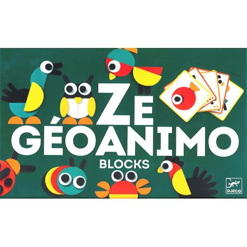 Djeco DJ06432 Ze Geoanimo