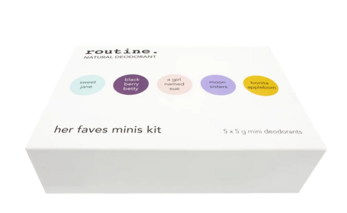 Routine Mini kit Her Faves