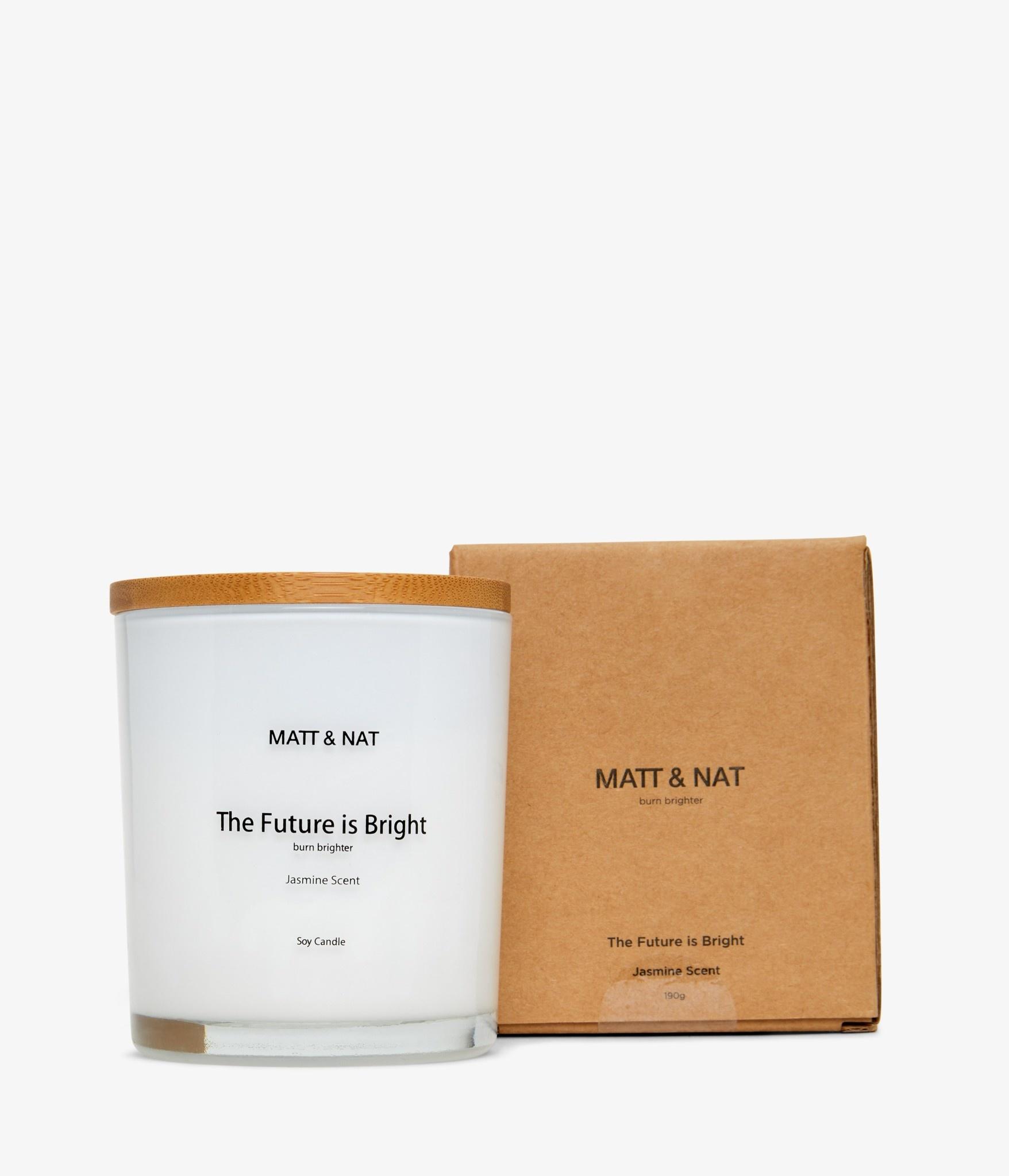 Matt & Nat Future is bright candle