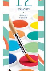 Djeco Djeco 12 pastilles de gouache / Classique