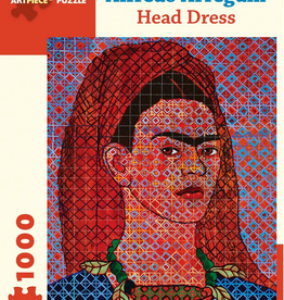 Pomegranate Puzzle - Alfredo Arreguin - Head Dress