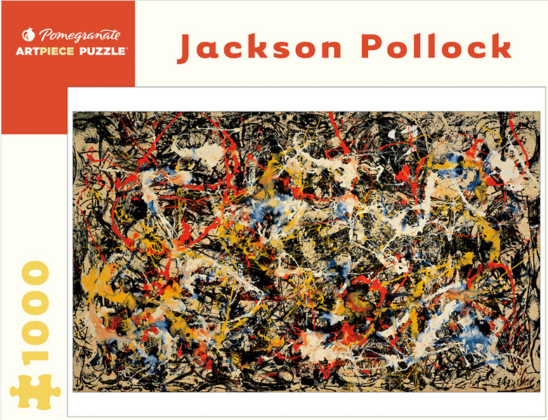 Pomegranate AA558 Jackson Pollock Convergence