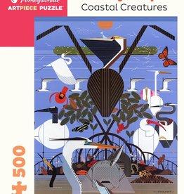 Pomegranate Casse-tête - Charley Harper - Coastal Creatures