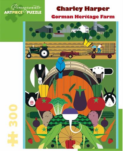 Pomegranate JK060 Charley Harper Gorman Heritage Farm
