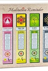 Ensemble 12 encens de méditation