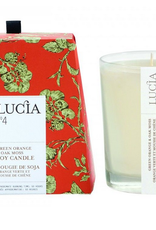Lucia Chandelle Lucia 50 hres Orange verte & mousse chêne