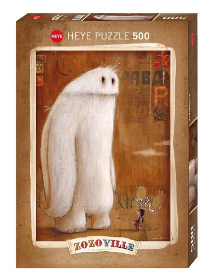 Puzzle 500 pcs - Sit - Zozoville