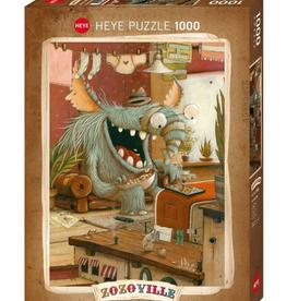 Puzzle 1000 pcs - Laundry Day - Zozoville