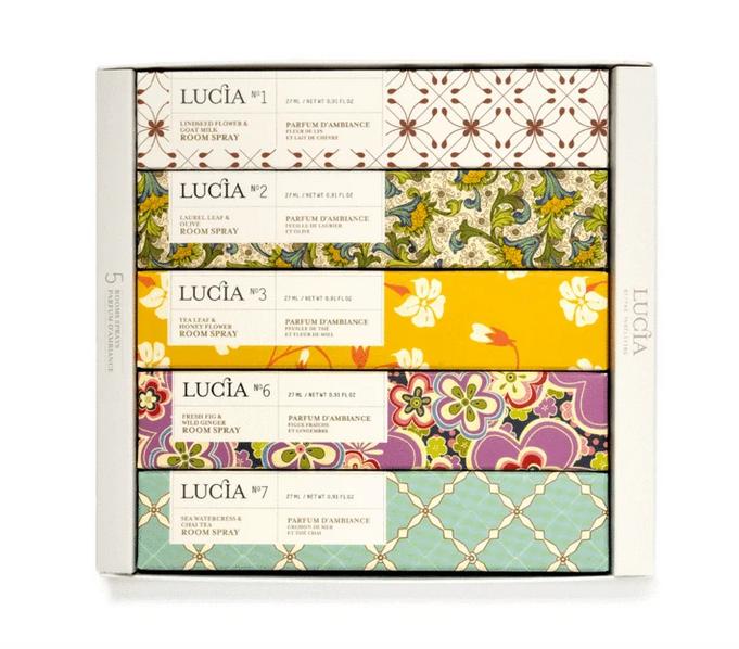 Lucia Ensemble varié de 5 vapo 27 ml (1-2-3-6-7)