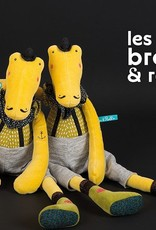 Moulin Roty Moulin Roty Les Broc'n rolls - Peluche crocodile Ernest