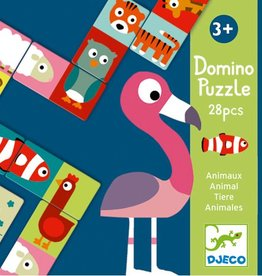 Djeco Domino Animo-puzzle