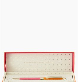 Kate Spade Ballpoint pen - Orange and pink
