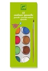 Djeco Djeco 12 Color Cakes / Classic