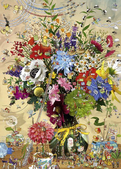 Heye Puzzle Flower's life - Degano