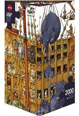 25475 Puzzle 2000 pcs - Noah's arch - Wolf