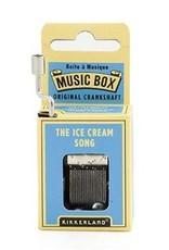Kikkerland Kikkerland Crankhand musical box Ice cream