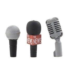 Kikkerland Kikkerland Gommes à effacer microphone