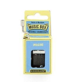 Kikkerland Crankhand musical box Imagine