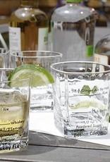 Kikkerland Kikkerland Verres à cocktails (ensemble de 4 verres)
