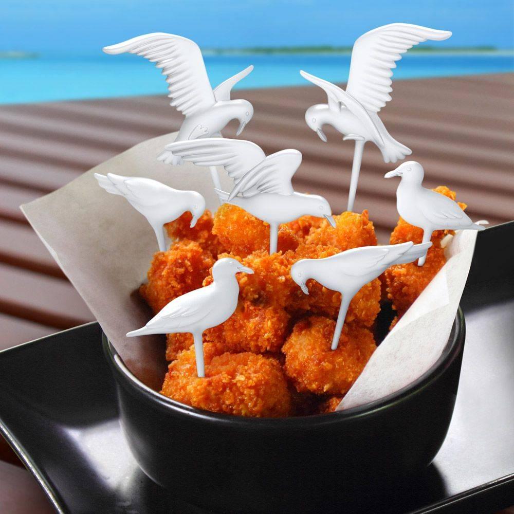 Fred Fred Feeding frenzy - Seagull picks