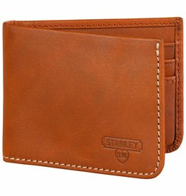 Wild et Wolf Wild & Wolf Money clip leather wallet tan