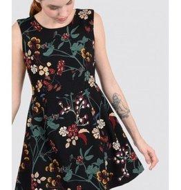 Molly Bracken Ladies woven dress Black