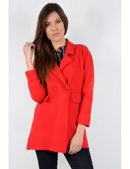 Molly Bracken Molly Bracken Manteau court rouge