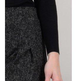Molly Bracken Ladies woven dress Ash black