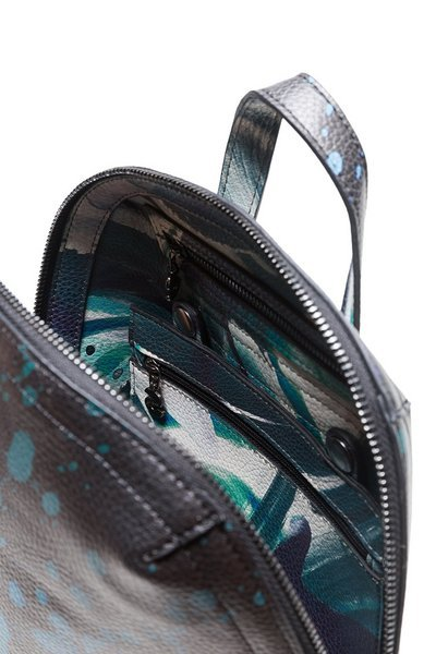 Desigual Desigual Reversible Backpack Madeira Split