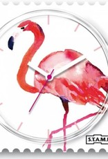 S.T.A.M.P.S. Stamps Montre Pink feathers
