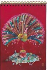 Izou Grand carnet à dessin La Parade